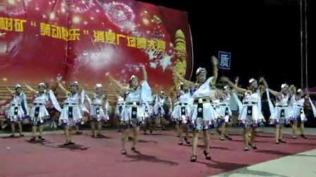 2014.7.29.山脚树矿广场舞比赛