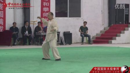太极名家倪元海  王亮在2015年正阳(陈家沟)太极拳精英大赛闭幕式上的精彩表演