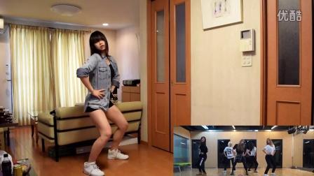 韩国美女在家自拍热舞视频 边学边跳胜过原版