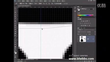 PS教程视频36 PS绘制卡通猫  部落窝