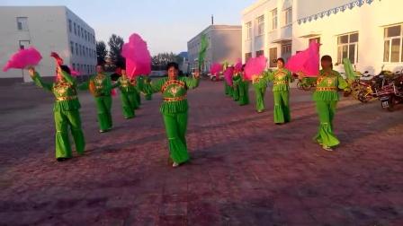 内蒙古 兴安盟 扎赉特旗 图牧吉镇 秧歌队