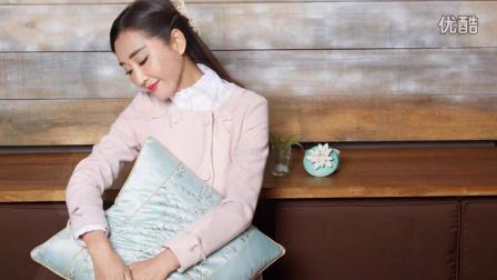 杜若溪时尚写真曝光 着粉色小洋装显甜美