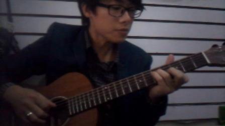 任贤齐版《我是一只小小鸟》福州吉他晓海