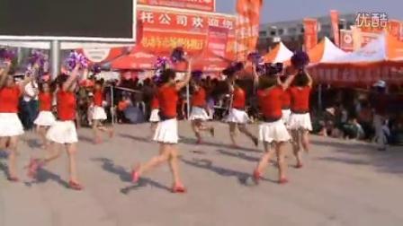 白潭镇不悔青春舞蹈队获奖作品优秀编排奖。