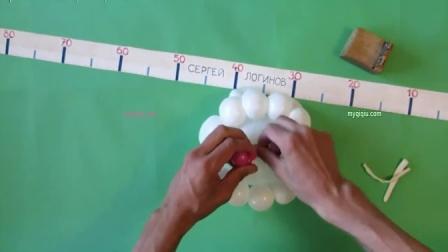 闹钟魔术气球造型教程,钟教程视频教程,新手老手必学造型