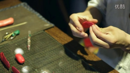 玉伟面塑——玫瑰花的制作