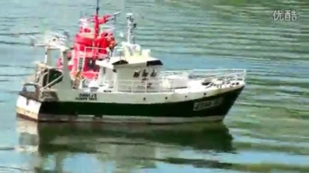(RC舰船)消防救援船拖网渔船