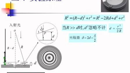 教学案例-牛顿环的等厚干涉