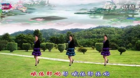 广场舞《土家妹》背面演示及分解教程(原创)_标清
