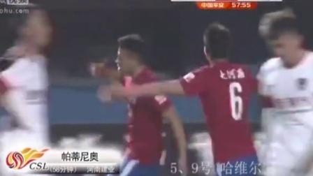 中超2015赛季河南建业球员进球集锦(截止到第11轮)