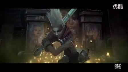 LOL英雄联盟 新英雄 时间刺客 艾克 主题动画宣传片 《秒》