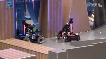 RoboMaster【武汉】华科HUST_速加网VS湖师机器人战队