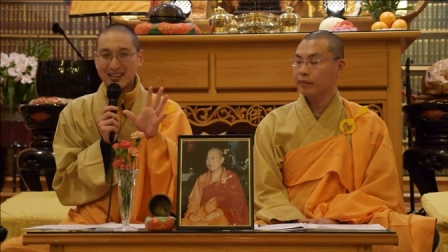 恒实法师 华严经讲堂-Avatamsaka Sutra Lecture at Berkeley Buddhist Monastery, 1 March 2014