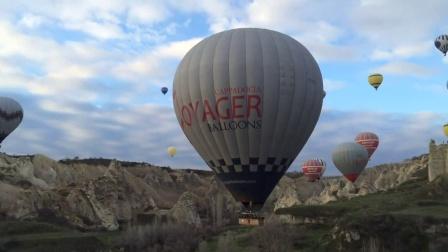 童话世界般的土耳其热气球体验