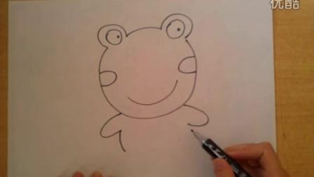 简笔画蜗牛乌龟青蛙的画法根李老师学画画
