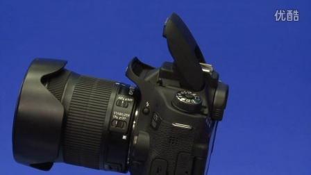 佳能EOS 760D 数码单反操作教程——闪光灯按钮(跟我学摄影)