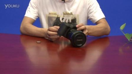 佳能EOS 760D 数码单反操作教程——存储卡的安装方法(跟我学摄影)