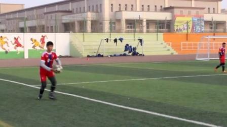 2015年新疆校园足球青少年足球联赛南疆赛区决赛(库尔勒市五小—库尔勒市哈拉玉宫乡小学)
