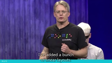 Google I/O 2015 - Improve your Android app's accessibility