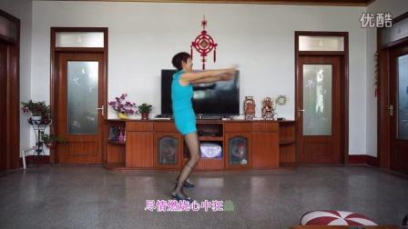 平度北高家紫叶广场舞-----杨丽萍原创辣妈