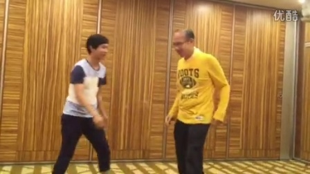 Master Franky, Sing and Anthony of King Tai Chi Academy--赵堡太极彭汉强劲太极学院