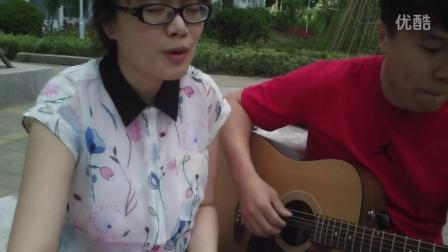 一个像夏天一个秋天 吉他弹唱