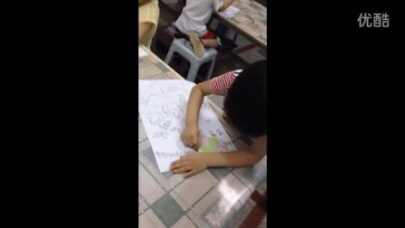 六一儿童节绘画表演罗浩哲