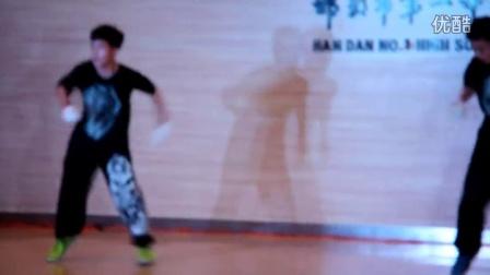 邯郸一中艺术节街舞 街舞视频
