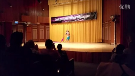 Zena Perform Shakira Oriental Gala show Singapore