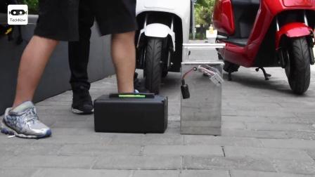 大一哥玩-小牛电动N1智能电动踏板车-TechNow太可闹