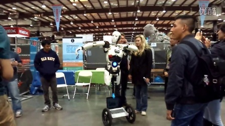 Maker Faire Bay Area 2015的人形机器人