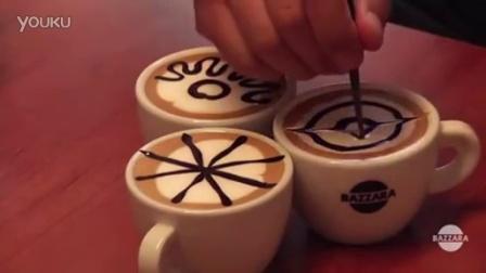 简易咖啡拉花~!!让你轻松上手