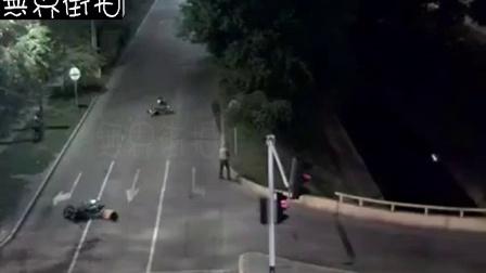 市民追贼中枪,警察及时赶到毙匪