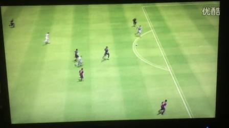 PS3版FIFA15快速反击(皇家马德里)