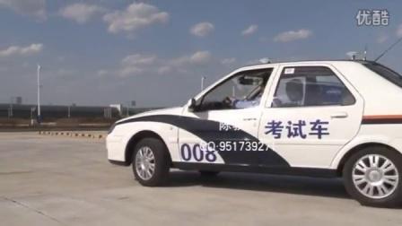 考驾照C1手动档自动档侧方停车场地考试技巧新捷达和田科目二