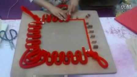 传统中国结的制作全过程,纯手工制作
