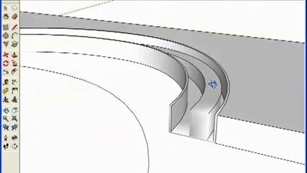 利用shapebender插件制作坡道