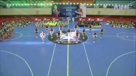 2015特步中国大学生足球拉拉队选拔赛和颁奖仪式