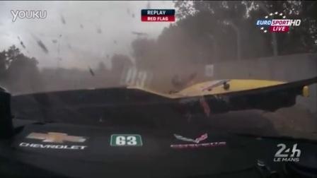 2015年勒芒24小时排位赛Jan Magnussen事故