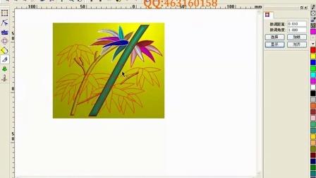 精雕设计入门教程 竹子浮雕雕刻设计教程视频