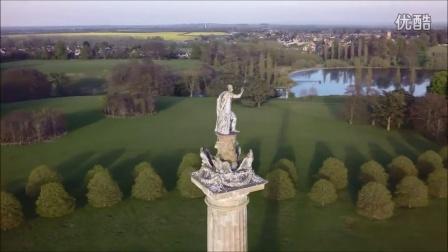 新作品航拍《年轻的维多利亚女王》取景地布莱尼姆宫