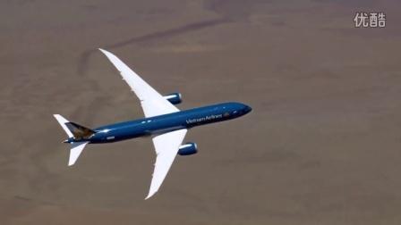 波音787-9最新型梦幻客机测试垂直爬升能力《配乐COLORS》