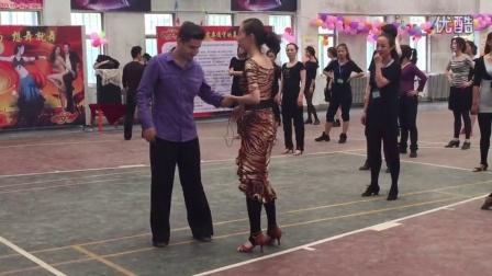 青海省体育舞蹈协会2015年外教拉丁舞教师裁判员提高培训