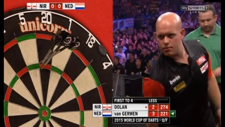 PDC World Cup Of Darts 2015 - Quarter-Finals - Netherlands vs. Northern Ireland