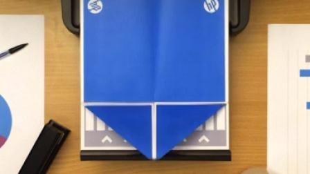 惠普打印机 魔术折纸