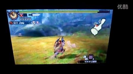 MH4G 千刃盾斧140狮子 13分