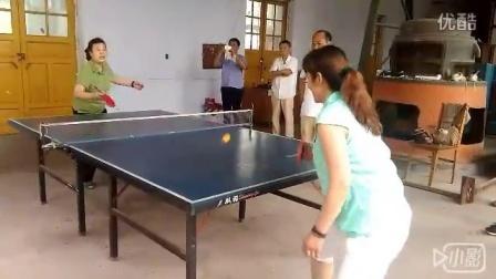 单位庆七.一乒乓球比赛部分镜头