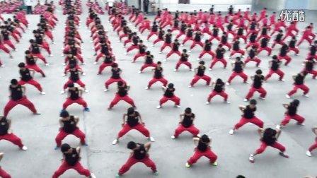 宁波少林文武学校2015年5月份月检汇报演出