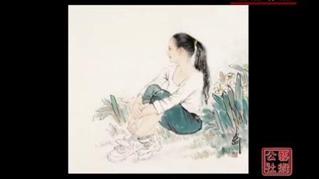 走进青年画家孟刚的人物画世界