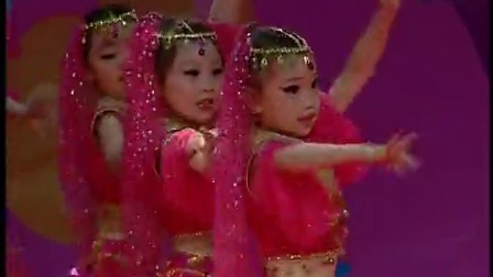 舞妞妞培训学校太原少儿电视艺术大赛金奖舞蹈《阿拉伯之夜》_高清
